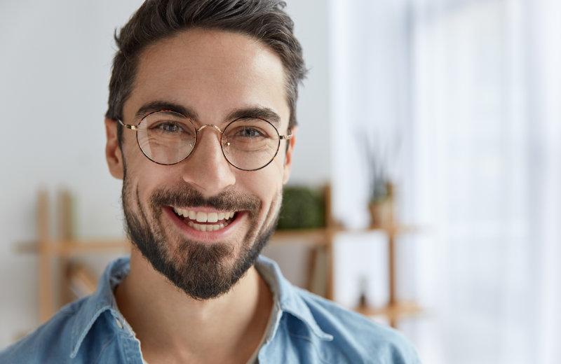 Mann Brille